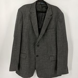 TOMMY HILFIGER Houndstooth Elbow Patch Sportcoat